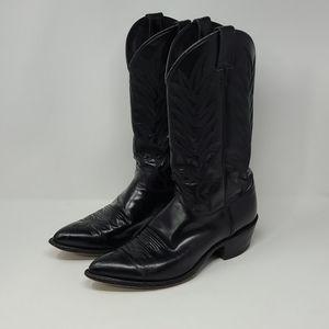 Justin Men's Cowboy Western Leather Boots Size 10D